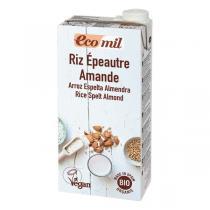 EcoMil - Boisson riz épeautre amande Bio 1L