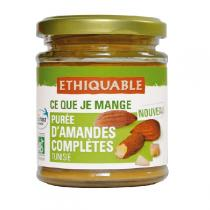 Ethiquable - Purée d'amandes complète - 170g