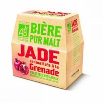 Jade - Bière Jade aromatisée à la Grenade 6x25cl