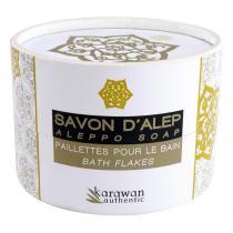 Karawan - Paillettes de savon d'Alep pour le bain 100g