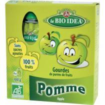 La Bio Idea - Gourdes Pomme 4x100gr