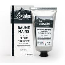 La Corvette - Baume Mains à la Fleur d'Olivier et à l'Huile d'Olive Bio 75mL
