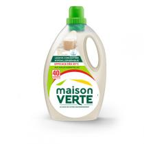 Maison Verte - Lessive Fraîcheur Savon de Marseille - 2,4L - 40 lavages