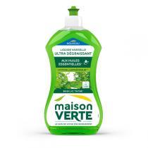 Maison Verte - Liquide Vaisselle Basilic & Thym - 500 ml
