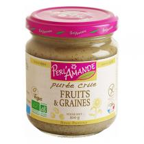 Perlamande - Purée Fruits & Graines crues 200gr