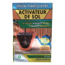 Planète Environnement - Engrais biologique activateur de sol Plantes 100g