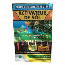 Planète Environnement - Activateur de sol - légumes, fleurs, arbustes 250g