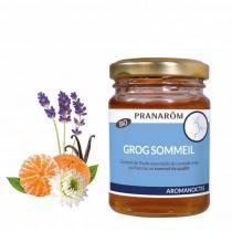 Pranarôm - Miel Sommeil aux Huiles Essentielles Bio 100mL