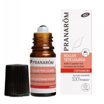 Pranarôm - Roller Tête lourde aux huiles essentielles 5ml