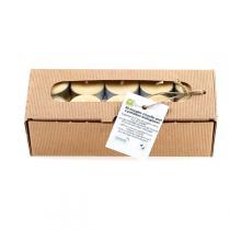Quésack - Boîte de 20 bougies chauffe-plat Cire d'abeille Bio