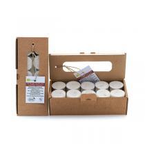 Quésack - Boîte de 20 bougies chauffe-plat cires végérales