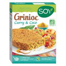 Soy - Grinioc curry et coco 2x100g