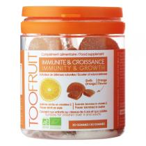 TOOFRUIT - Immunité Croissance Complément alimentaire - 30 gommes