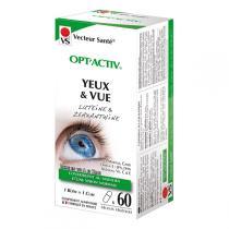 Vecteur Santé - Opt'activ Yeux & Vue, anti âge et fatigue - 60 gélules