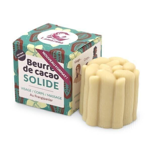 Lamazuna - Beurre de cacao solide au frangipanier 55g