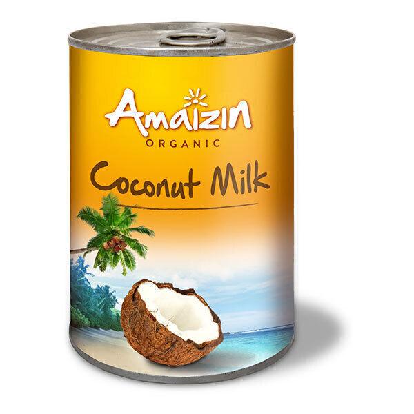 Amaizin - Lait de coco sans gomme de guar 400ml