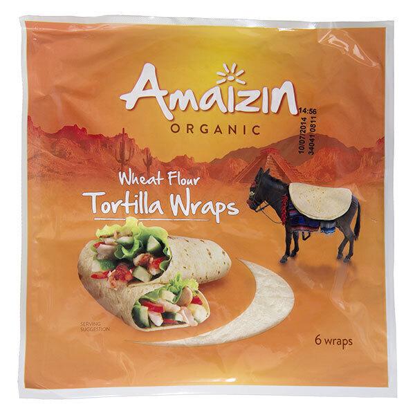 Amaizin - Tortilla Wrap 240g