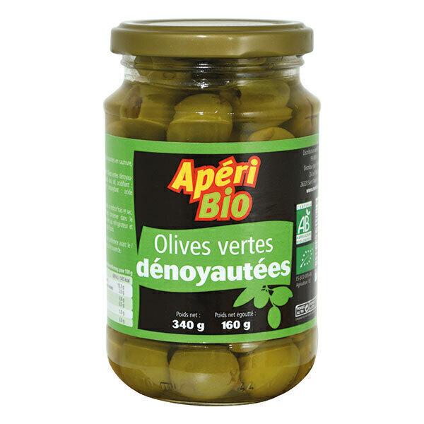 Apéri Bio - Olives vertes dénoyautées 340g