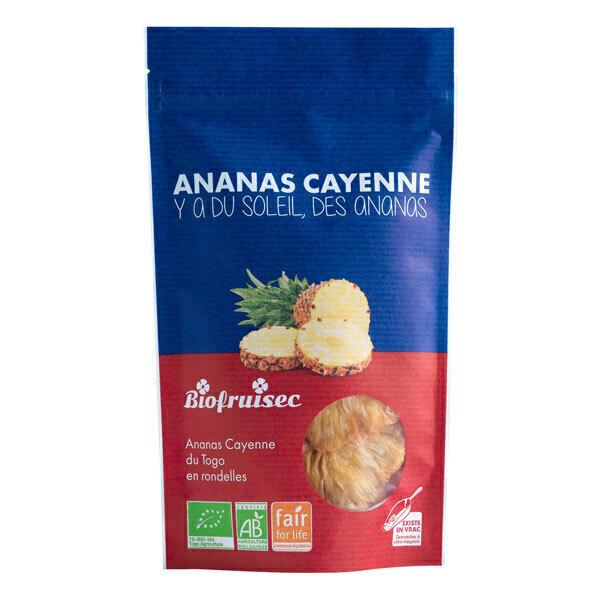 Biofruisec - Ananas Cayenne du Togo séché 100g