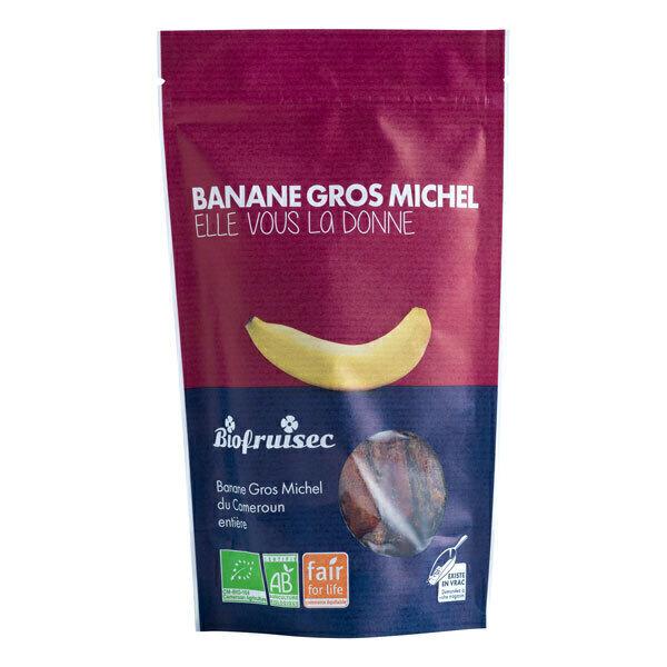Biofruisec - Banane Gros Michel du Cameroun séchée entière 150g