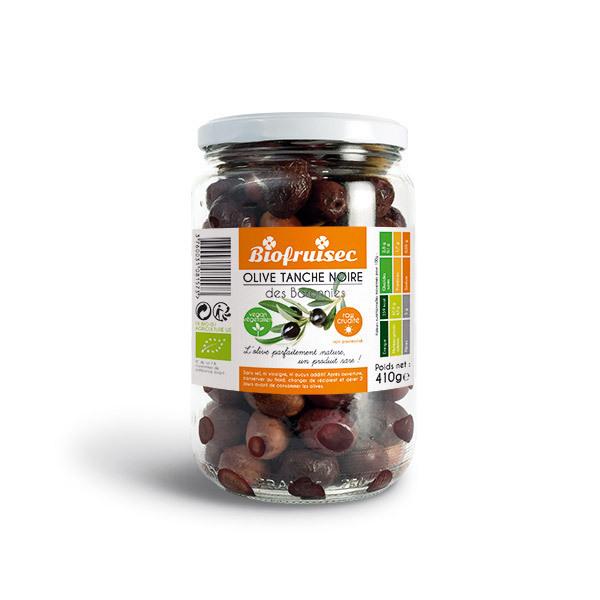 Biofruisec - Olive Tanche noire crues des Baronnies 410g