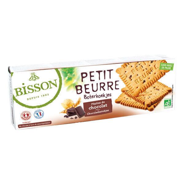 Bisson - Petit beurre pépites de chocolat 150g