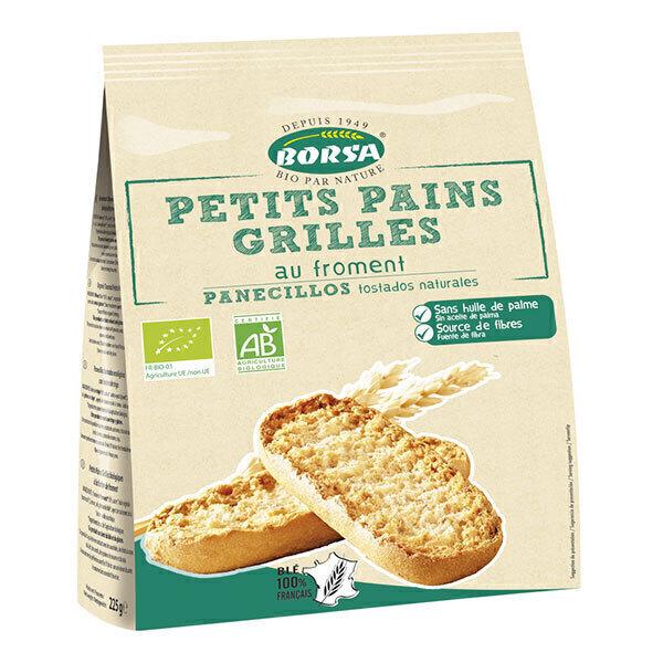 Borsa - Petits pains grillés au froment 225g