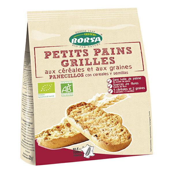 Borsa - Petits pains grillés céréales et graines 225g