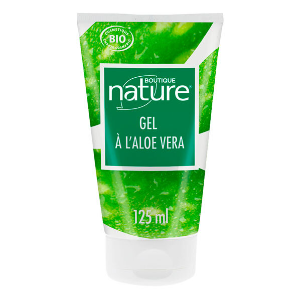 gel l 39 aloe vera bio 125ml boutique nature acheter sur. Black Bedroom Furniture Sets. Home Design Ideas