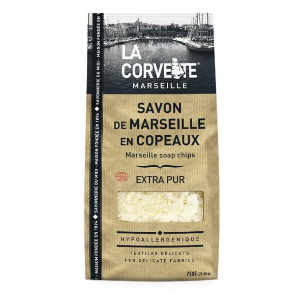 La Corvette - Copeaux de savon de Marseille Extra Pur 750g