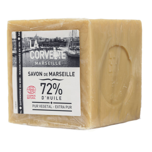 La Corvette - Savon de Marseille Extra Pur linge sous film 500g