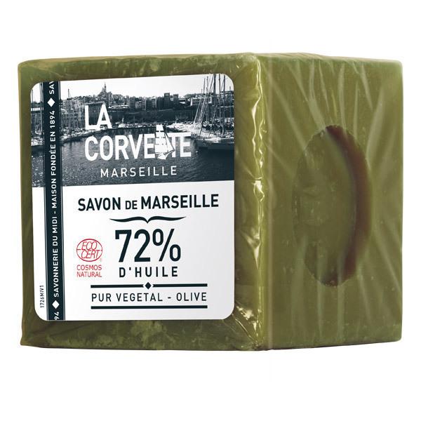 La Corvette - Savon de Marseille Olive sous film 500g