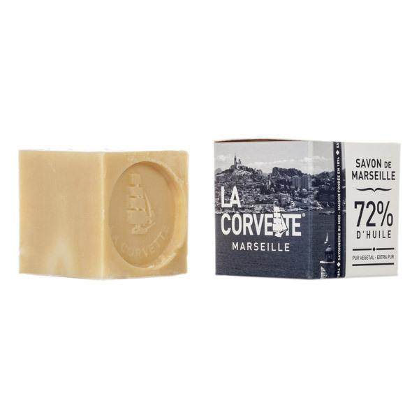 Savon de marseille pur ecocert boite 100g la corvette acheter sur greenweez - Union des professionnels du savon de marseille ...