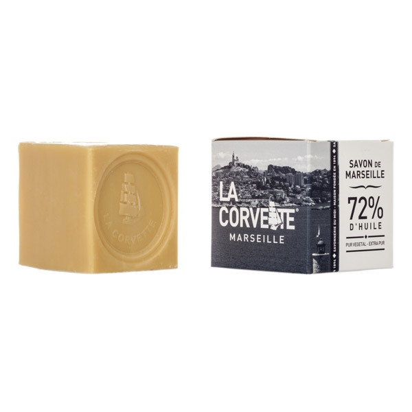 savon de marseille pur ecocert boite 200g la corvette acheter sur. Black Bedroom Furniture Sets. Home Design Ideas