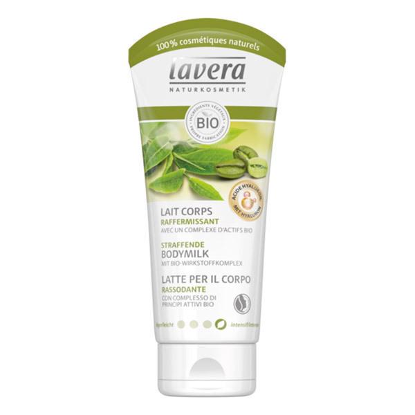 Lavera - Lait corps raffermissant café vert thé vert bio 200ml