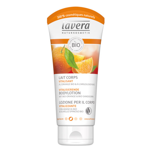Lavera - Lait corps vitalisant orange bio & argousier bio 200ml