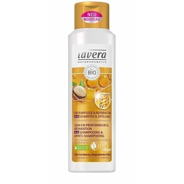 Lavera - Shampoing Soin réparateur 2en1 - 250ml