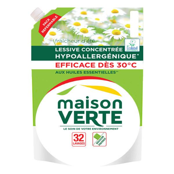Lessive recharge fra cheur d 39 t 1 92l 32 lavages - Maison verte produits d entretien ...