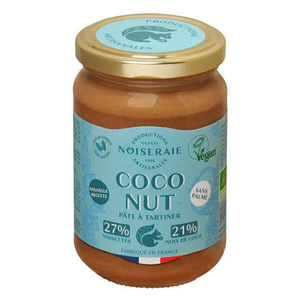 Noiseraie - Pâte à tartiner Coco Nut noisettes et noix de coco 300g