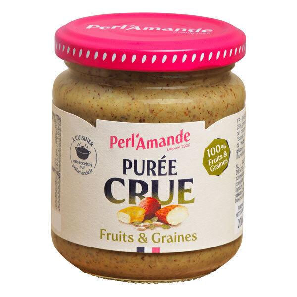Perlamande - Purée Fruits & Graines crues 200gr