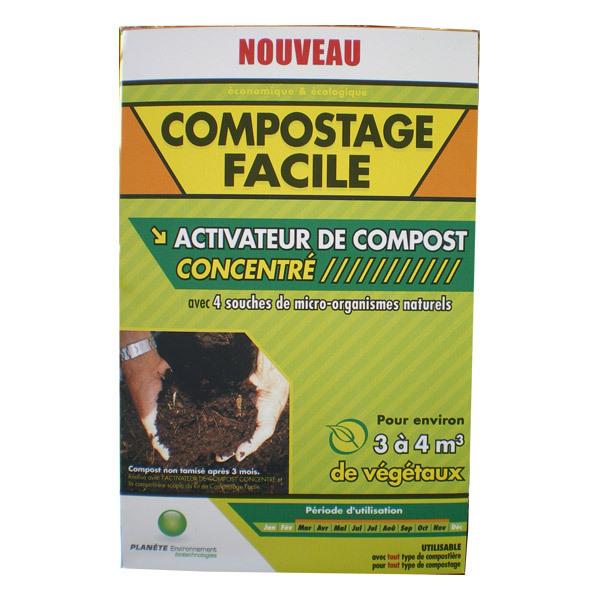 Activateur de compost concentr 500g plan te environnement - Activateur de compost ...