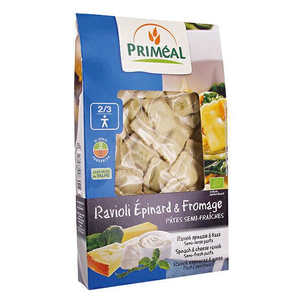 Priméal - Ravioli épinard fromage 250g