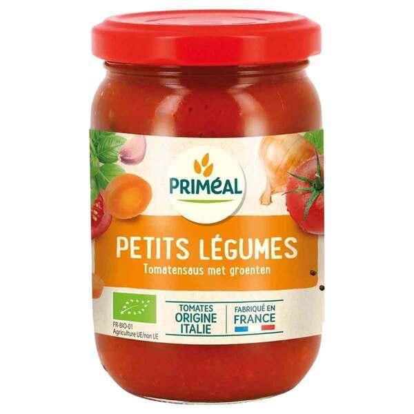 Priméal - Sauce tomate aux petits légumes 200g