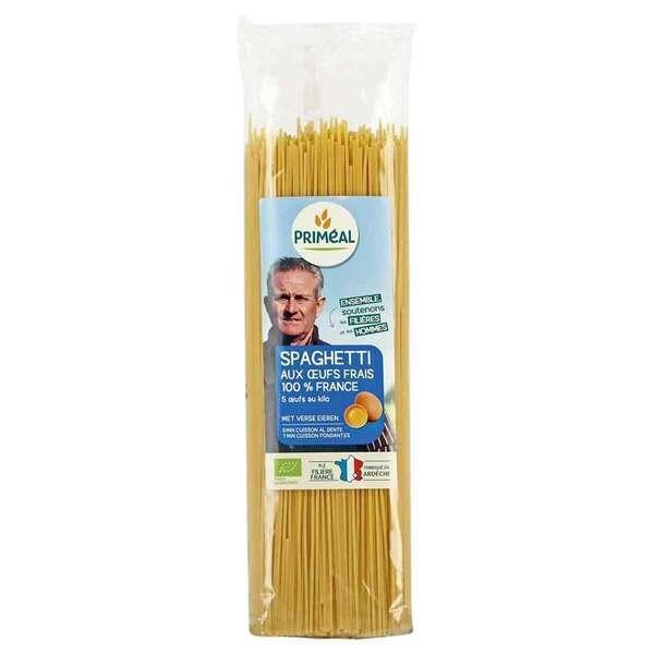 Priméal - Spaghetti aux oeufs frais 500g