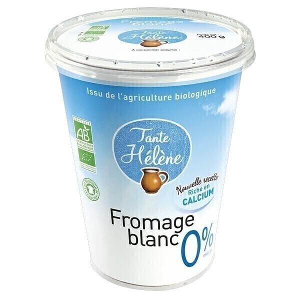 Tante Hélène - Fromage blanc nature 0% 400g