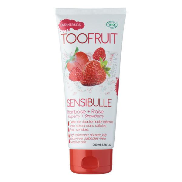 TOOFRUIT - Gelée de douche Sensibulle fraise Framboise 200ml