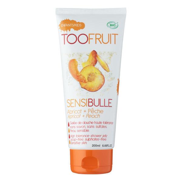 TOOFRUIT - Gelée de douche Sensibulle pêche abricot 200ml