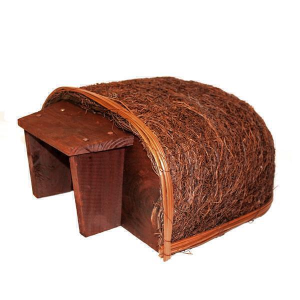 Wildlife World - Abri pour hérissons avec entrée en bois