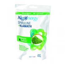 Algo'nergy - Spiruline + Klamath en poudre - 100g