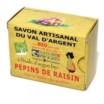 Argasol - Savon bio Pépin de raisin 140gr